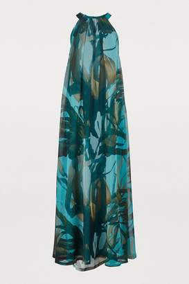 Max Mara Noemi silk maxi dress