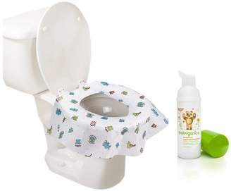 Summer Infant Keep Me Clean Disposable Potty Protectors, Green/White, 40-Coun...