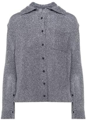 Krizia Lurex-knit Shirt