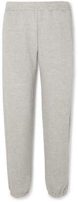 Simon Miller Yuba French Cotton-terry Track Pants - Gray