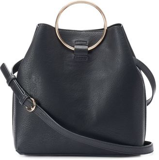 LC Lauren Conrad Ring Large Bucket Bag $89 thestylecure.com