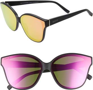 7818c5fd70 Cat Eye DIFF Piper 58mm Oversize Polarized Sunglasses