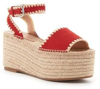 Pour La Victoire Rian Ankle Strap Platform Wedge Sandal