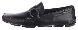 Salvatore Ferragamo Gancio Driving Loafers