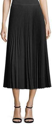 Lafayette 148 New York Women's Dorothy Pleated Midi Skirt
