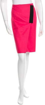 Cédric Charlier Wool & Cashmere-Blend Skirt w/ Tags