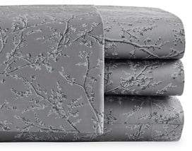 Vera Wang Four-Piece Blossom Cotton Sheet Set