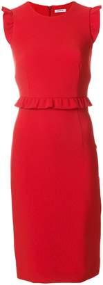 P.A.R.O.S.H. ruffle hem pencil dress