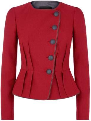 Emporio Armani Jacquard Asymmetric Jacket