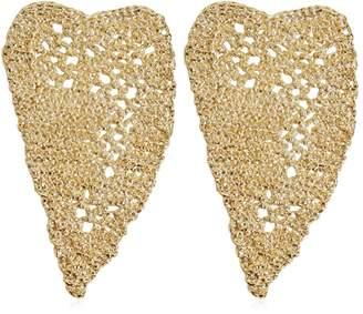 Maison Margiela Heart Crochet Earrings
