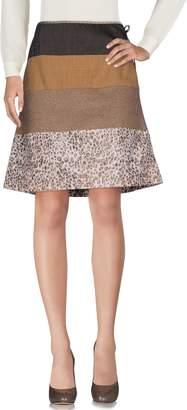 Maliparmi TESSUTO DELLA MEMORIA by Knee length skirts