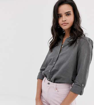 Esprit linen blouse in khaki