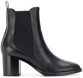 Jimmy Choo round toe boots