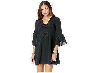 Lilly Pulitzer Tatiana Stretch Silk Tunic Dress