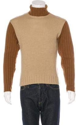 Dolce & Gabbana Wool-Blend Turtleneck Sweater