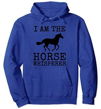 Horse Whisperer Hoodie Fun Spirit Animal Lover Farm Gift