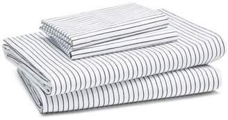 Kate Spade Skinny Stripe Sheet Set, Twin