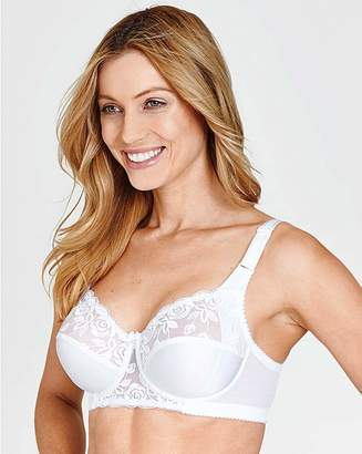 Miss Mary Of Sweden Miss Mary Rose Embroidered White Bra
