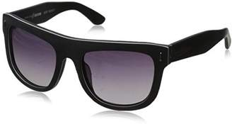 Hang Ten Gold Classic Wayfarer HTG1001 C2 Polarized Round Sunglasses