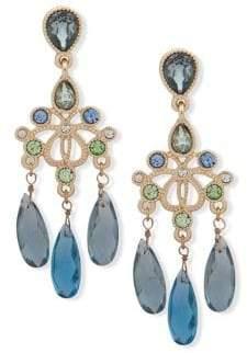 Jenny Packham Crystal Chandelier Drop Earrings