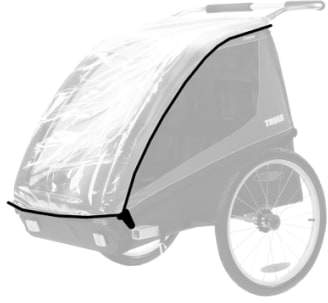 Thule Protective Rain Cover for Coaster/Cadence Bike Trailer