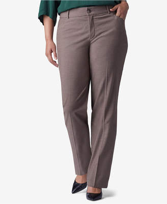 Lee Platinum Plus & Petite Plus Size Madelyn Straight-Leg Trousers