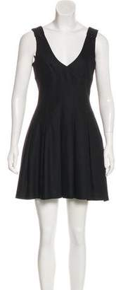 Burberry Sleeveless Pleated Dress