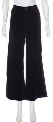 J Brand Velvet High-Rise Pants