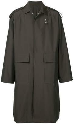 E. Tautz military style long coat