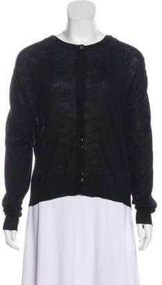 Robert Rodriguez Cowl Neck Button-Up Cardigan w/ Tags