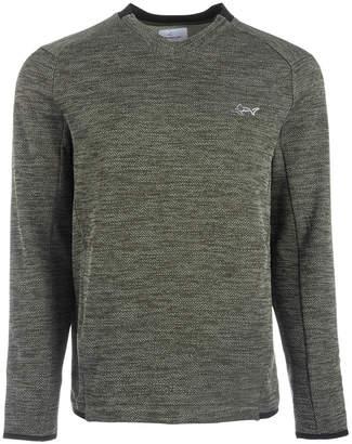 Greg Norman Attack Life by Men's Herringbone Double Zip Sweater
