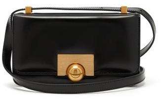 Bottega Veneta Classic Small Leather Shoulder Bag - Womens - Black