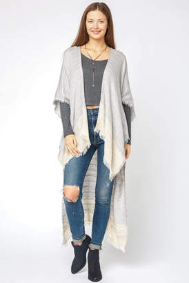 Saachi Ombre Sweater Knit Kimono