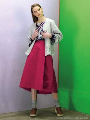 H.A.K (ハク) - ハク メモリーグログラン ラップ風スカート