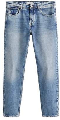Mango man MANGO MAN Light wash tapered Jason jeans