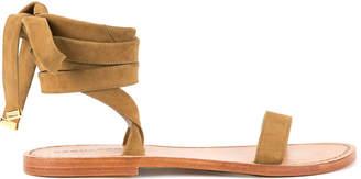 DSQUARED2 ankle tie sandals