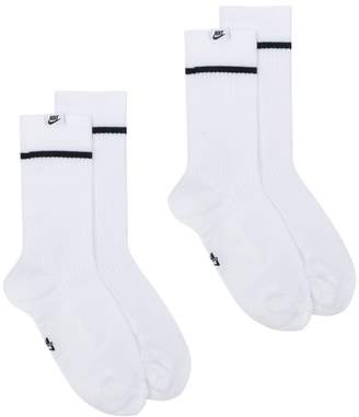 Nike two pack of high socks