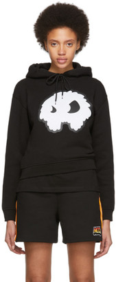 McQ Black Classic Mad Chester Hoodie