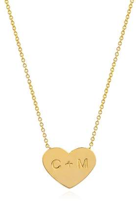 Johnny Was 14K Gold Custom Small Heart Of Gold Necklace