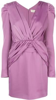 Nicholas long-sleeve mini dress