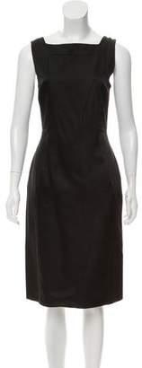 Couture St. John Silk Midi Dress