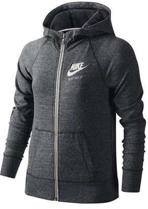 Girl's Nike 'Gym Vintage' Zip Hoodie $50 thestylecure.com