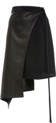Wendelborn Short Curve Wrap Skirt