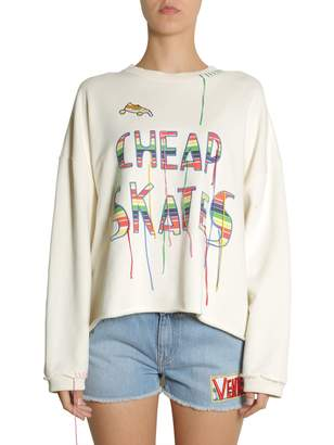 Mira Mikati Cheap Skates Embroidered Sweatshirt