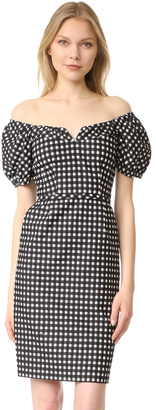 Nanette Lepore Cheeky Check Dress $448 thestylecure.com
