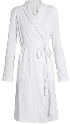 Skin - French Terry Towelling Robe - Womens - White 831a97226