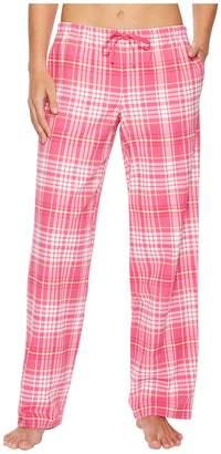Life is Good Tropical Pink Plaid Sleep Pant Women's Pajama