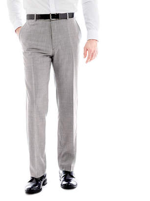 STAFFORD Stafford Mini Houndstooth Flat-Front Suit Pants - Classic