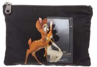 Givenchy Nylon Bambi Cosmetic Bag