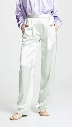 ADAM by Adam Lippes Pleat Front Trousers